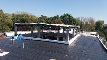 Konstrukcja nadbudowy dachu (górka szczęślewicka)